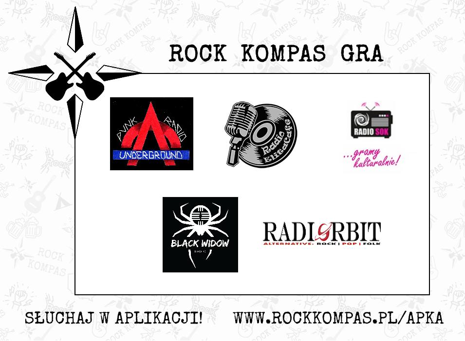 Rock Kompas gra - radia internetowe
