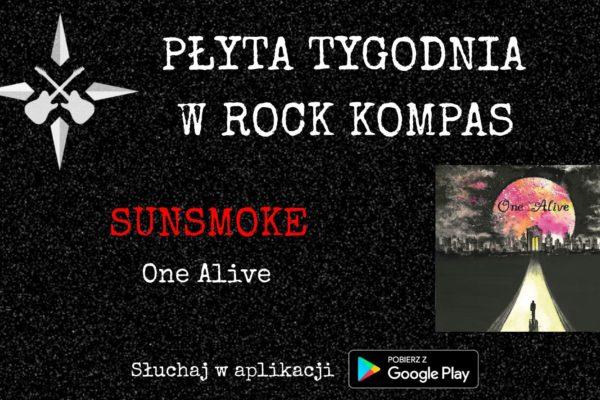 Płyta tygodnia w Rock Kompas: Sunsmoke - One Alive