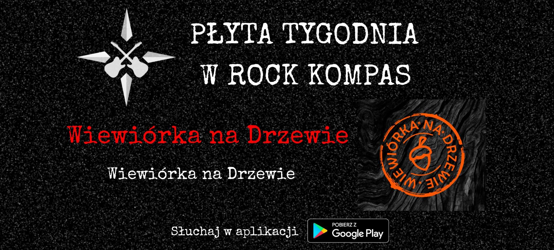 Płyta tygodnia w Rock Kompas: Wiewiórka na Drzewie - Wiewiórka na Drzewie
