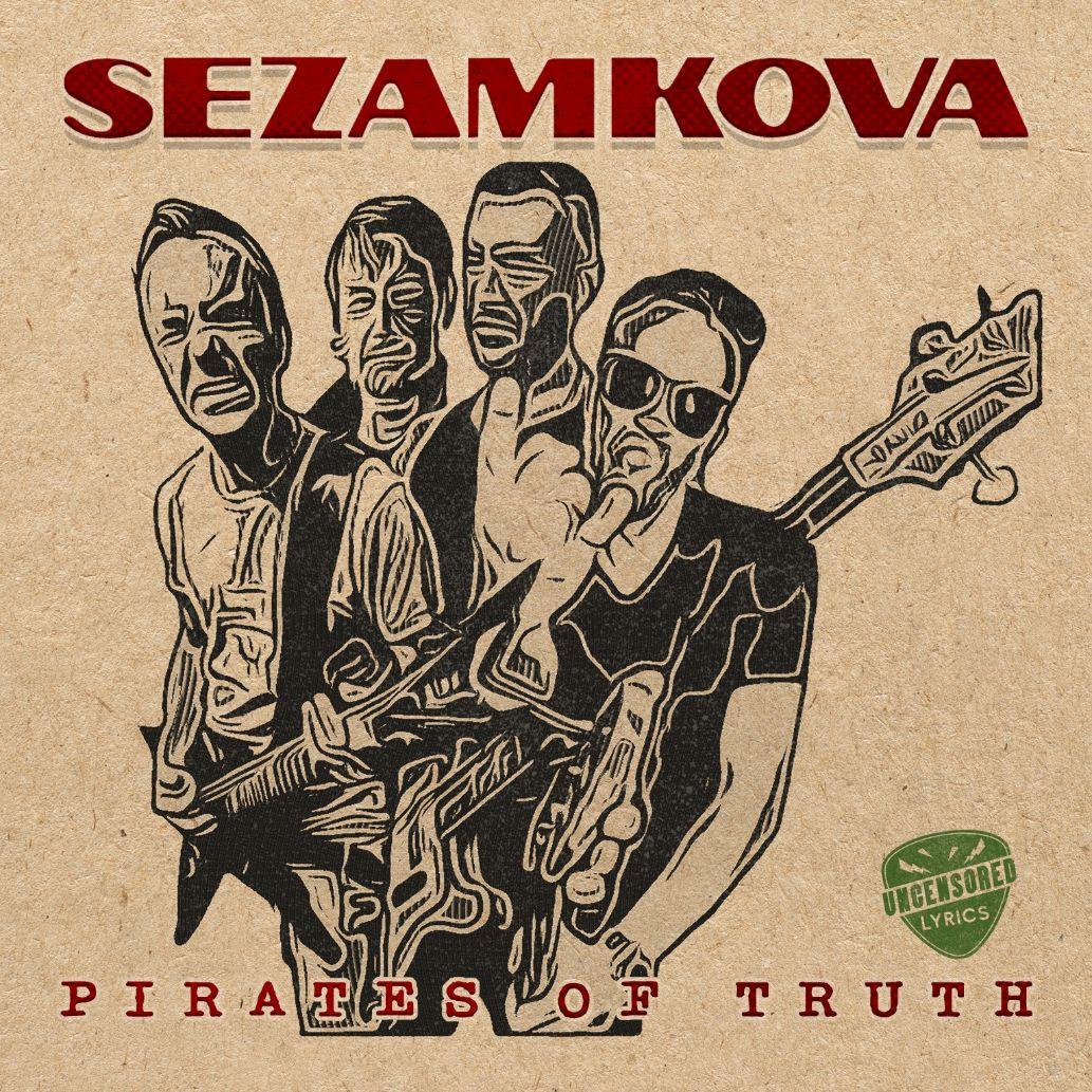 Płyta tygodnia w Rock Kompas: Sezamkova - Pirates Of Truth